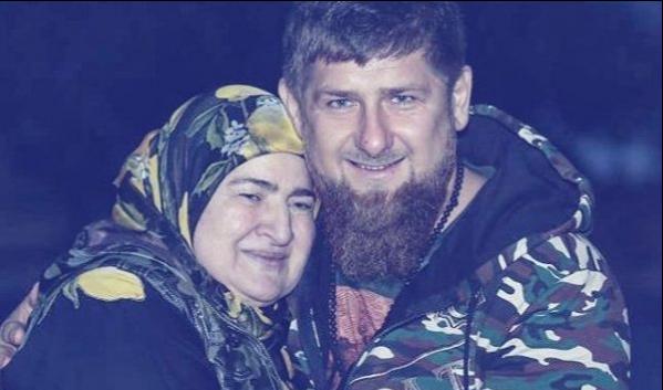 Рамзан Кадыров с мамой