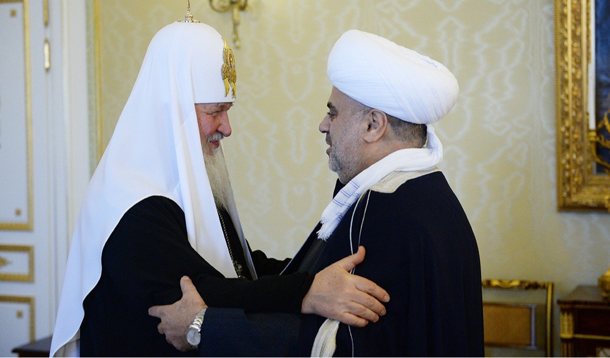 Патриарх Кирилл и председатель УМК