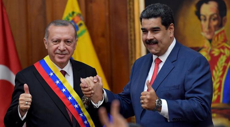Эродган и Мадуро