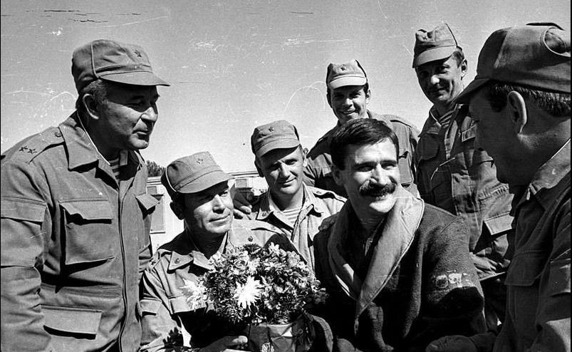 Руслан Аушев в Афганистане