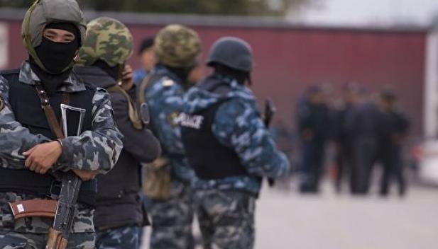 Сотрудники ГКНБ Киргизии