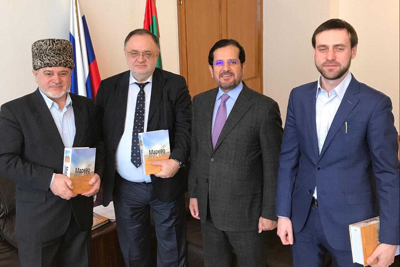Слева направо: Ш.Пшихачев, А.Полосин, М.аль-Хейли, Д.Шубин