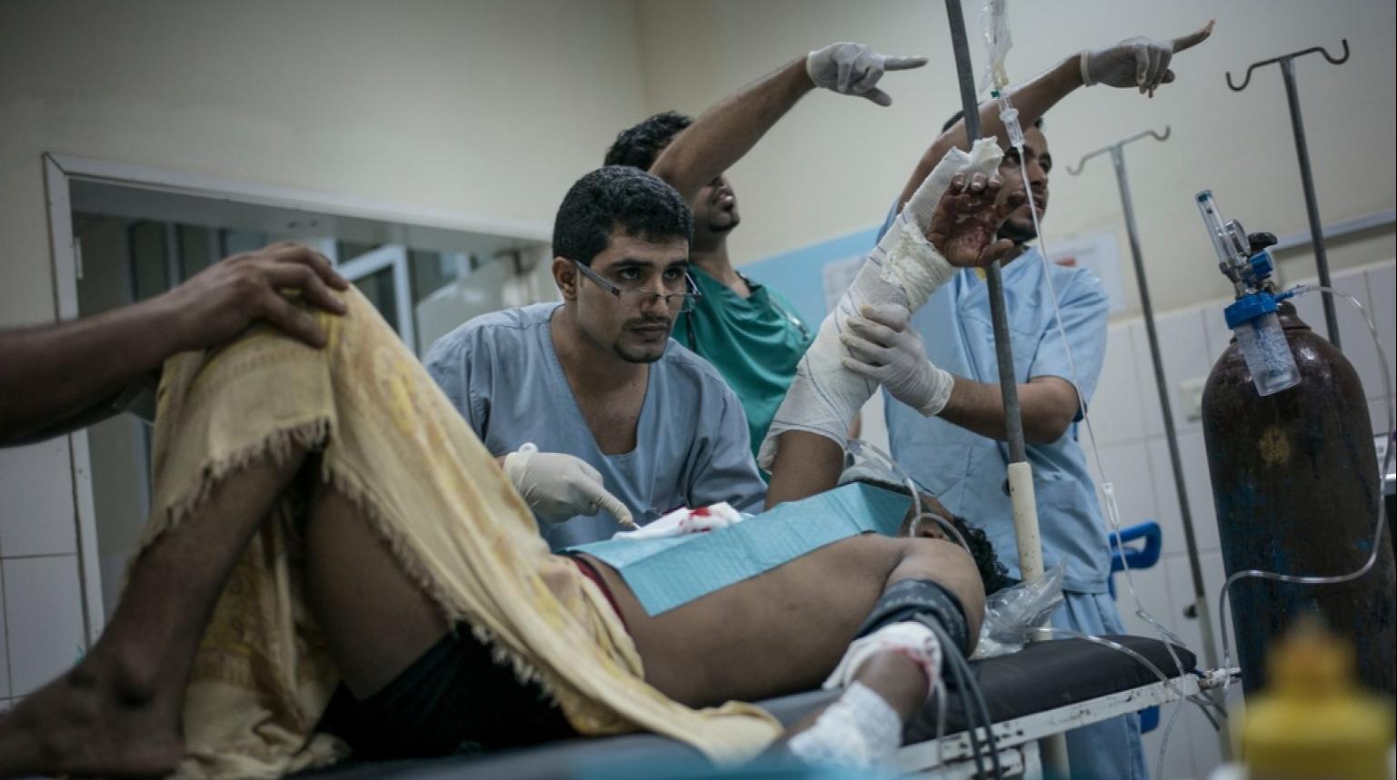 «Врачи без границ» в Йемене