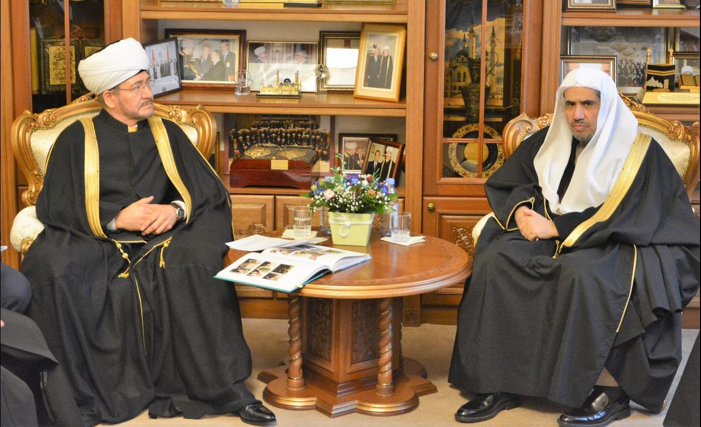 Глава СМР и генсек ВИЛ. Фото: Muslim.ru