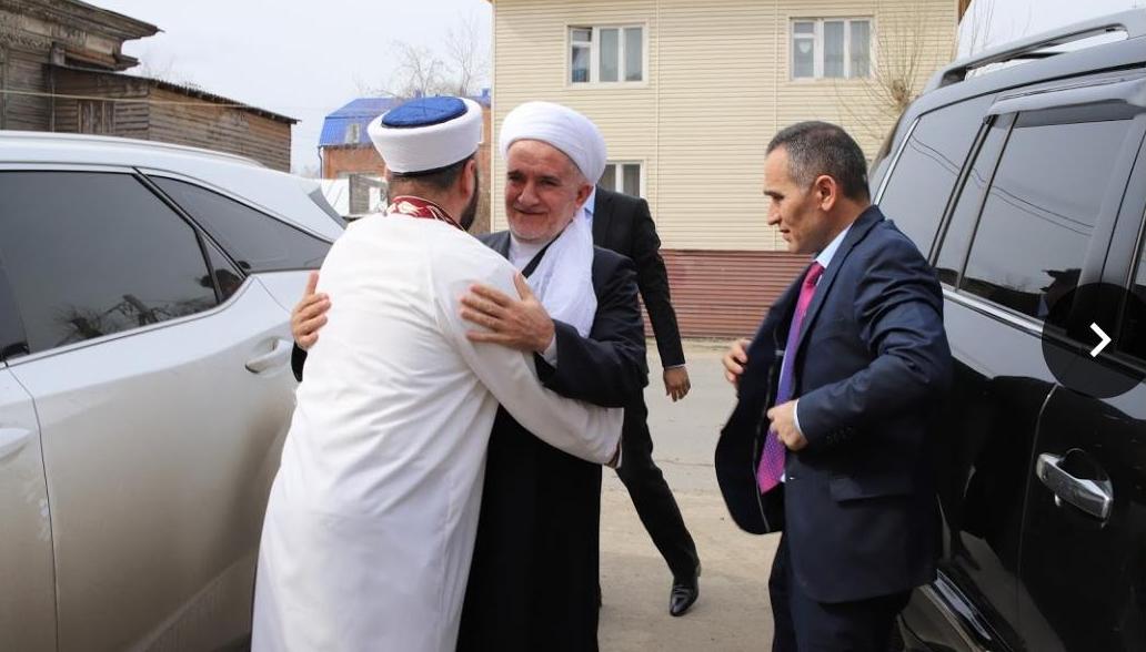 Муфтий из Таджикитстана в Томске