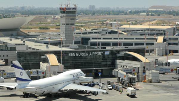 Аэропорт Бен-Гуриона в Тель-Авиве