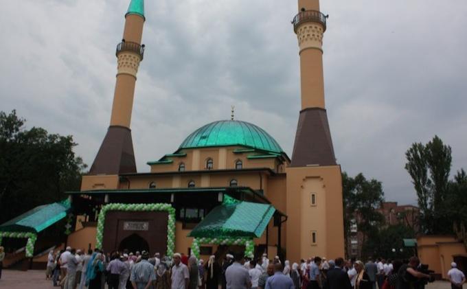 Мечеть в Донецке