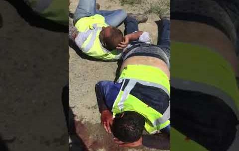 Избиение арабских инженеров их казахстанскими коллегами