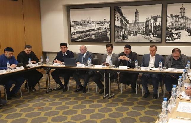 Участники заседания (Фото: пресс-служба Болгарской исламской академии)