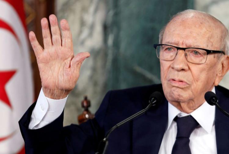 Умерший президента Туниса