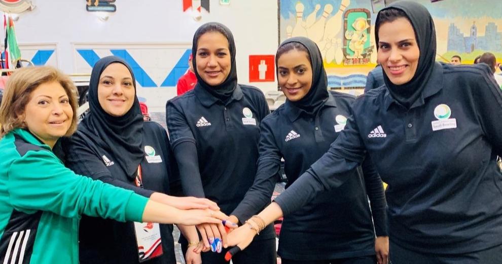 Саудовские спортсменки