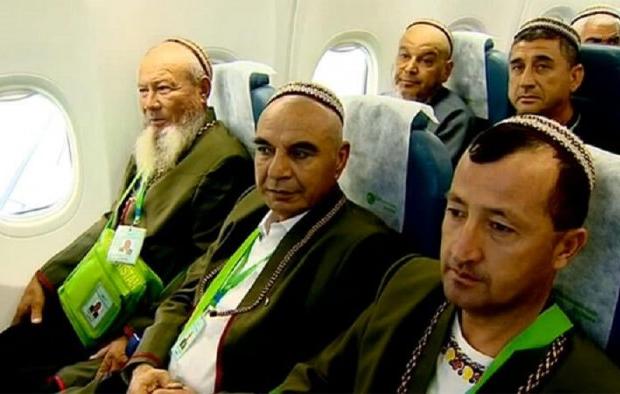 Паломники из Туркменистана