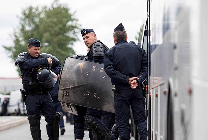 Хорватские полицейские