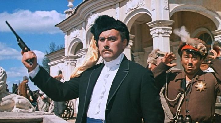 Пан атаман Грициан Таврический. Фрагмент фильма «Свадьба в Малиновке»
