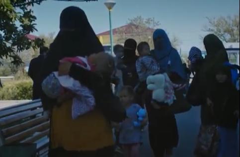 Возвращенные из Сирии казахстанцы