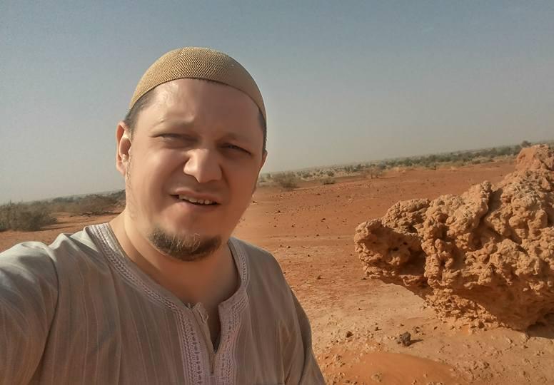 Расул Тавдиряков в Нигере
