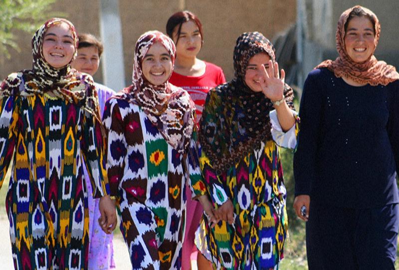 Жительницы Узбекистана