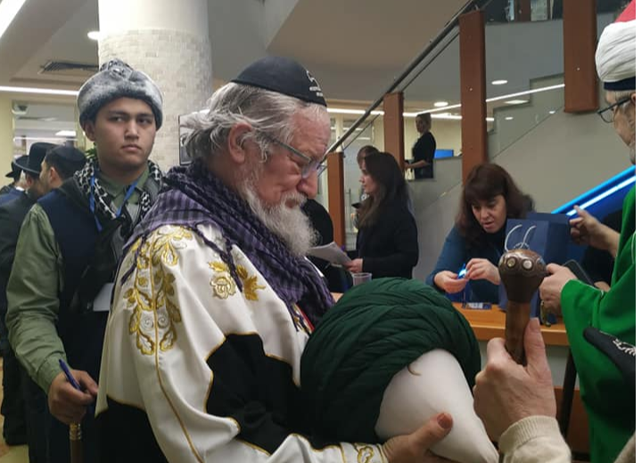 Муфтий Талгат Таджуддин. Фото: страница Гершона Когана в соцети