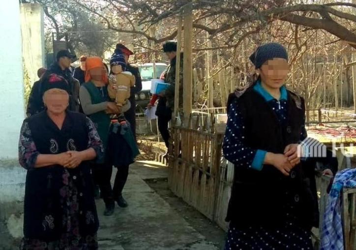 Жители села Кок-Таш