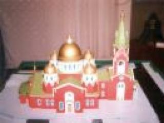 Мечеть в лесном массиве