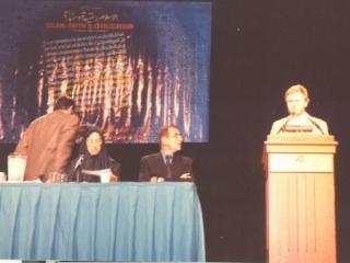 Выступление М. Саляхетдинова на конференции в Чикаго