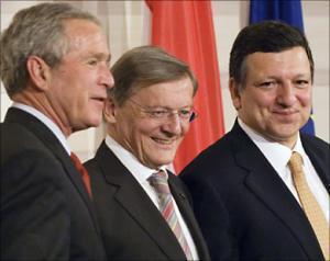 США И ЕС СВЕРИЛИ ЧАСЫ