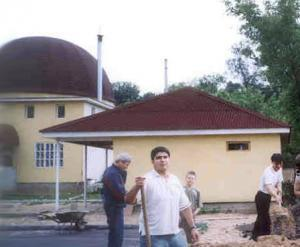 В Яхроме взорвана мечеть