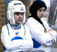 Две федерации таеквондо – два подхода к хиджабу
