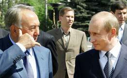 Путин надеется на сотрудничество с Казахстаном и Туркменистаном