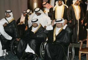 В Дубаи состоялась массовая свадьба инвалидов