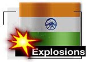 В Индии взорвали мечеть