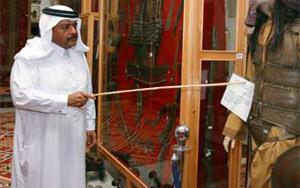 Брат катарского эмира в свободное время работает в музее экскурсоводом