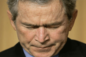 Буш задумался о выводе войск из Ирака
