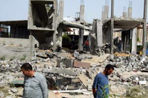 Сионисты бомбят сектор Газа
