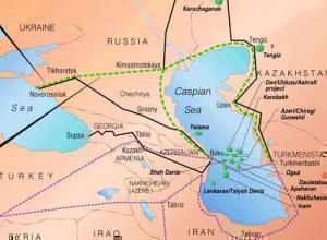 Новый канал «Eвpaзия» должен соединить Каспий и Черное море