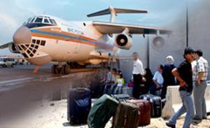 Эвакуированные из Палестины россияне вылетели в Москву
