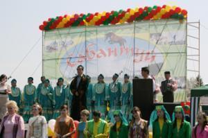Сабантуй по-мусульмански в Тюменской области