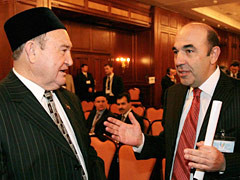 Мусульмане и евреи встретились на Украине