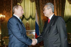 Владимир Путин принял в Кремле Премьер-министра Малайзии