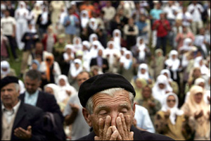 Боснийские мусульмане подали в суд на голландских миротворцев