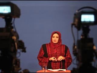 Диктор палестинского ТВ