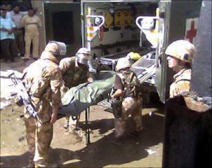 В Ираке за минувший день убито десять американских военных