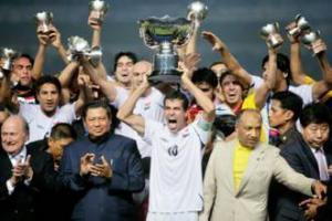 Победившая иракская команда