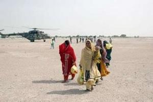 В Белуджистане оказывают помощь пострадавшим от наводнения