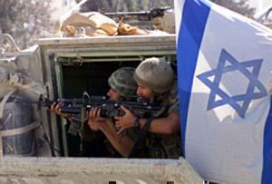 Дулы направленные на палестинцев