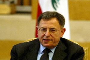 Ливанский премьер не ожидает прогресса от конференции во Франции