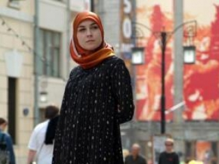 Хиджаб из коллекции Джамили Русудан Кобяковой