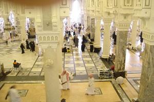 Запретную мечеть оснащают кондиционерами