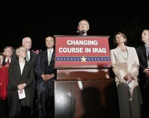 Представители демократической партии в Сенате