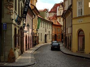 Улица Праги.